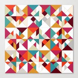 tangram geo Canvas Print