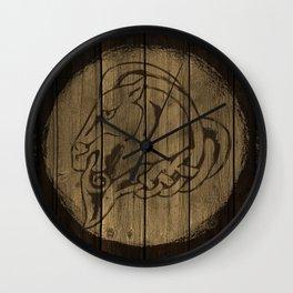 Horse Shield Wall Clock