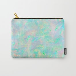 Light Blue Opal Carry-All Pouch