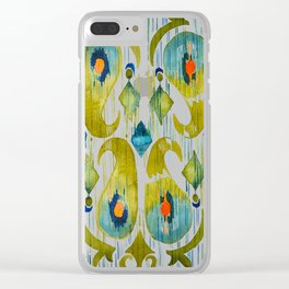 Balinese Pattern 09 Clear iPhone Case