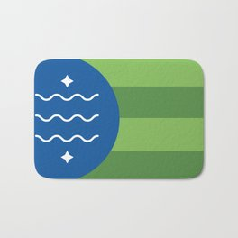 Bellingham, Washington Bath Mat