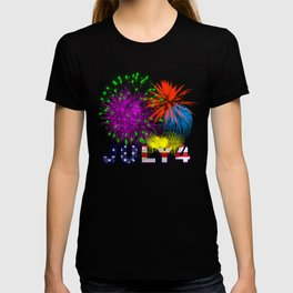 America 4th of July Fireworks T-shirt