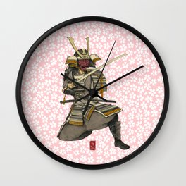 Samurai 1 Version A Wall Clock