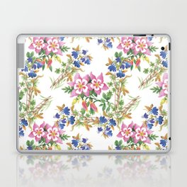 Painting lili flowers pattern Laptop & iPad Skin