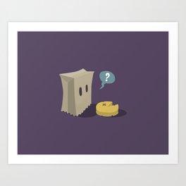 Pack-Man Art Print