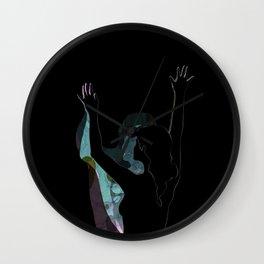 Dancing With Shadows #3 Wall Clock
