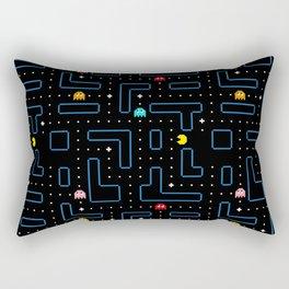 Pac-Man Retro Arcade Gaming Design Rectangular Pillow