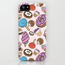 Desserts and Sweets iPhone Case