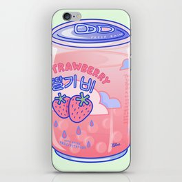 Strawberry Rain iPhone Skin