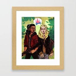 Princess Mechanic Framed Art Print