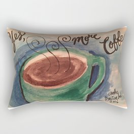 Yes, More Coffee Rectangular Pillow