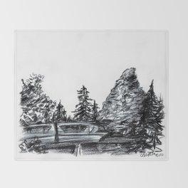 The Matterhorn Throw Blanket
