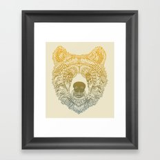 Bear (Savage) Framed Art Print