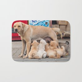 meal time Bath Mat