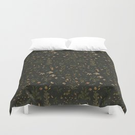 Old World Florals Duvet Cover