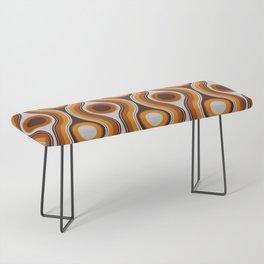 Older Patterns ~ Waves 70s Bench