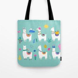Hola, Llama Tote Bag