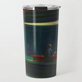 Nighthawks by Edward Hopper, 1942 Travel Mug