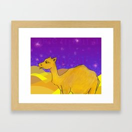 Once upon a night... Framed Art Print