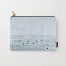 Lima, Peru, Playa Waikiki, Miraflores Travel Poster Carry-All Pouch