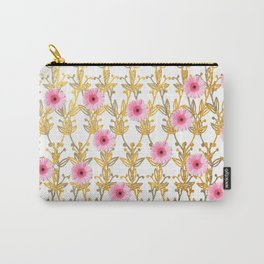 Hugging Bloom Carry-All Pouch