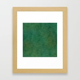 """Porstroke, Teal Shade Pattern"" Framed Art Print"
