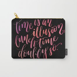 Douglas Adams Quote Carry-All Pouch