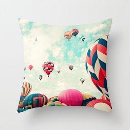 Monringrise Throw Pillow
