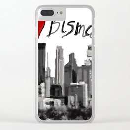 I love Bismarck Clear iPhone Case