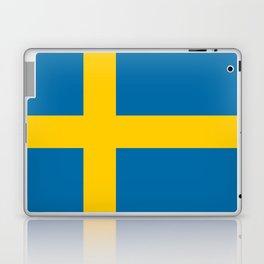 National flag of Sweden Laptop & iPad Skin
