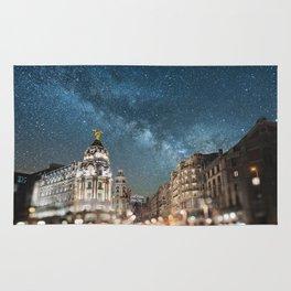 Madrid at night Rug