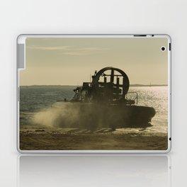 Hovercraft gold Laptop & iPad Skin