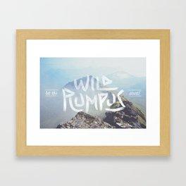 Wild Rumpus Framed Art Print