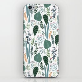 Early Spring Thaw In The Flower Garden Pattern iPhone Skin