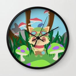 TEEMO Wall Clock