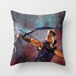 Clint Barton Throw Pillow