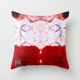 Crystal Shrimp Throw Pillow