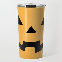Happy Jack-O-Lantern Travel Mug
