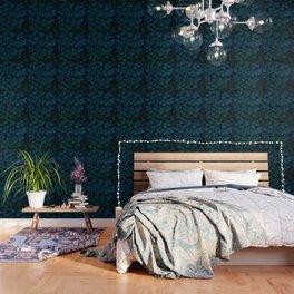 Columbine Leaves Wallpaper