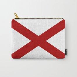 Alabama Sate Flag Carry-All Pouch