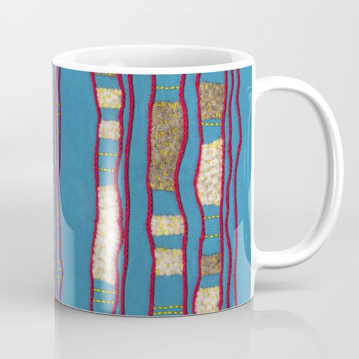 Layered on blue Coffee Mug