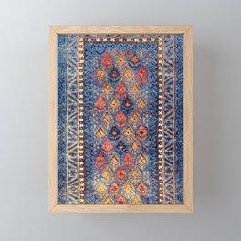 Baluch Balisht Khorasan Northeast Persian Bag Print Framed Mini Art Print