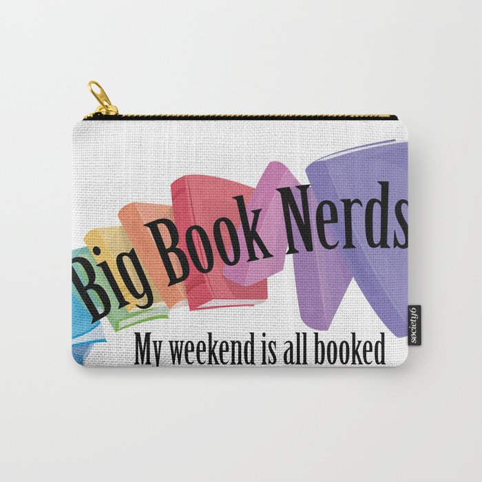Big Book Nerds Carry-All Pouch