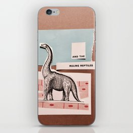 RULING REPTILES AND EDUCATION iPhone Skin