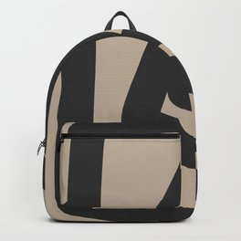 Neutral Abstract 4B Backpack