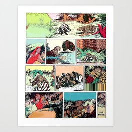 THE FABLE Art Print