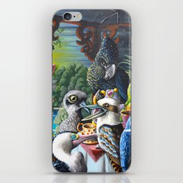 Chit-Chat On The Island iPhone Skin