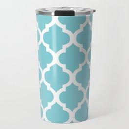 Moroccan Blue Travel Mug