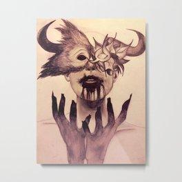 Kill the monster Metal Print
