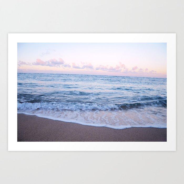 Ocean Morning Kunstdrucke